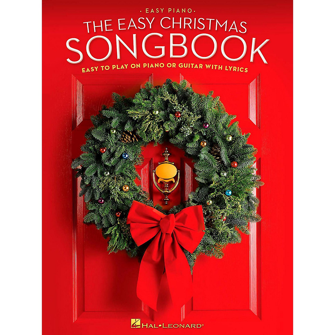 Hal Leonard The Easy Christmas Songbook - Easy to Play on Piano or Guitar with Lyrics thumbnail
