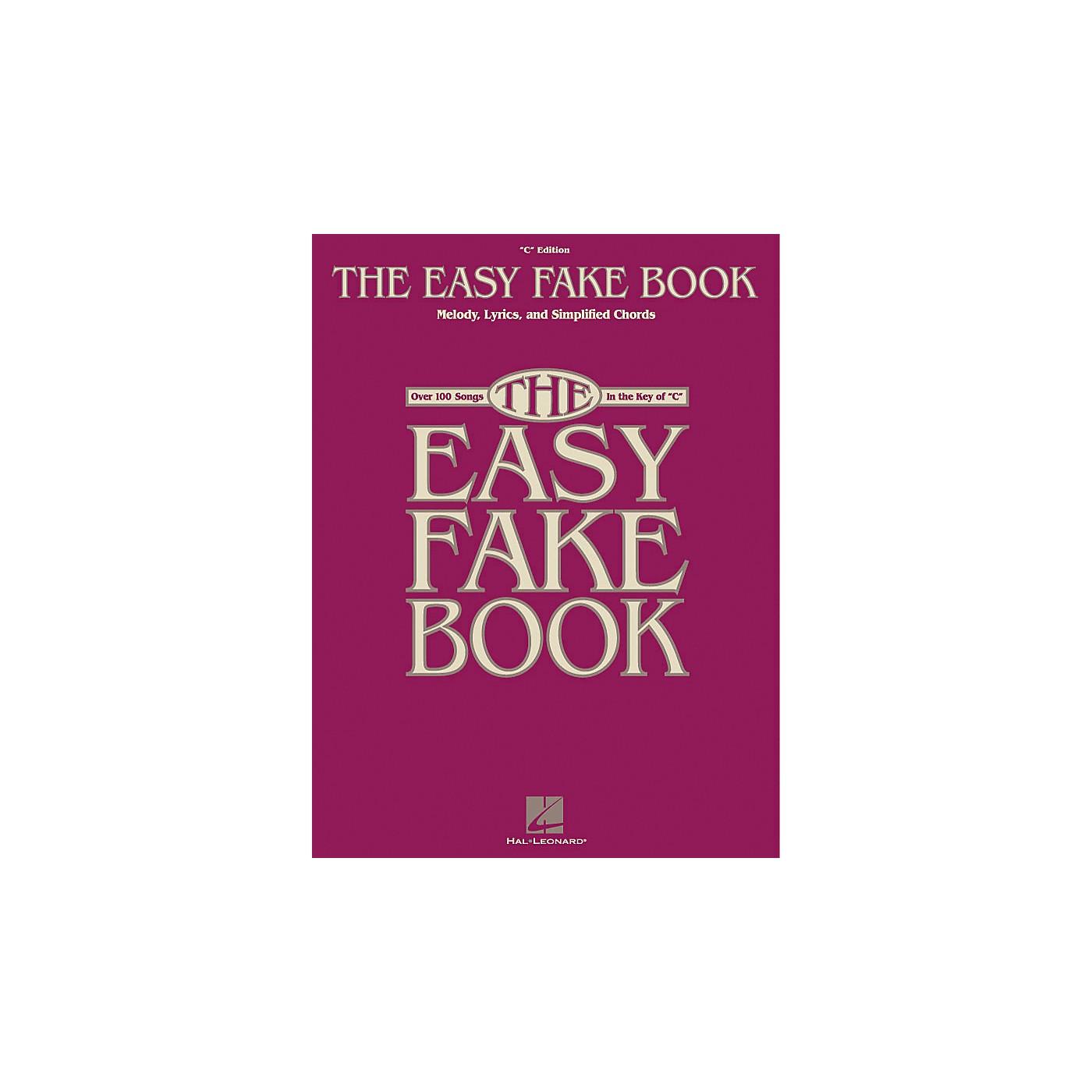 Hal Leonard The Easy Fake Book thumbnail