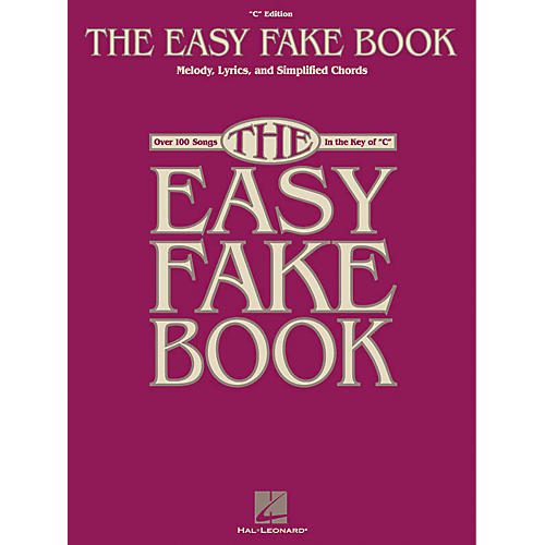 Hal Leonard The Easy Fake Book-thumbnail