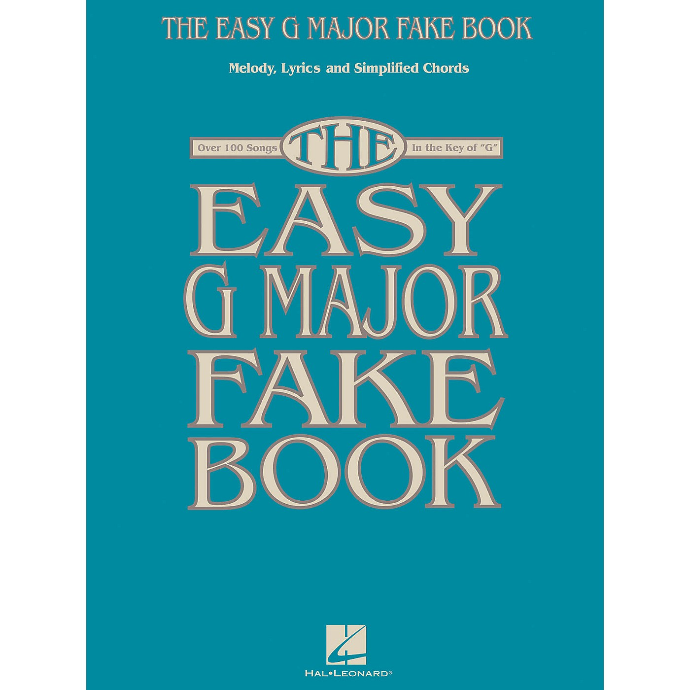 Hal Leonard The Easy G Major Fake Book Easy Fake Book Series Softcover thumbnail