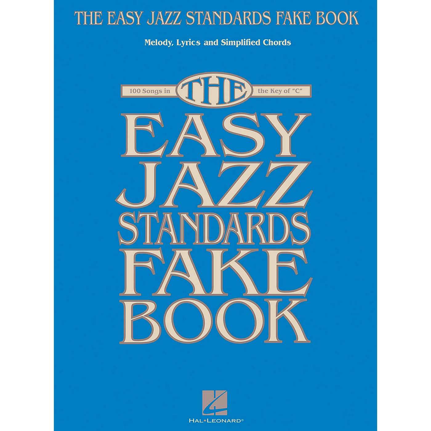 Hal Leonard The Easy Jazz Standards Fake Book - 100 Songs In The Key Of C thumbnail