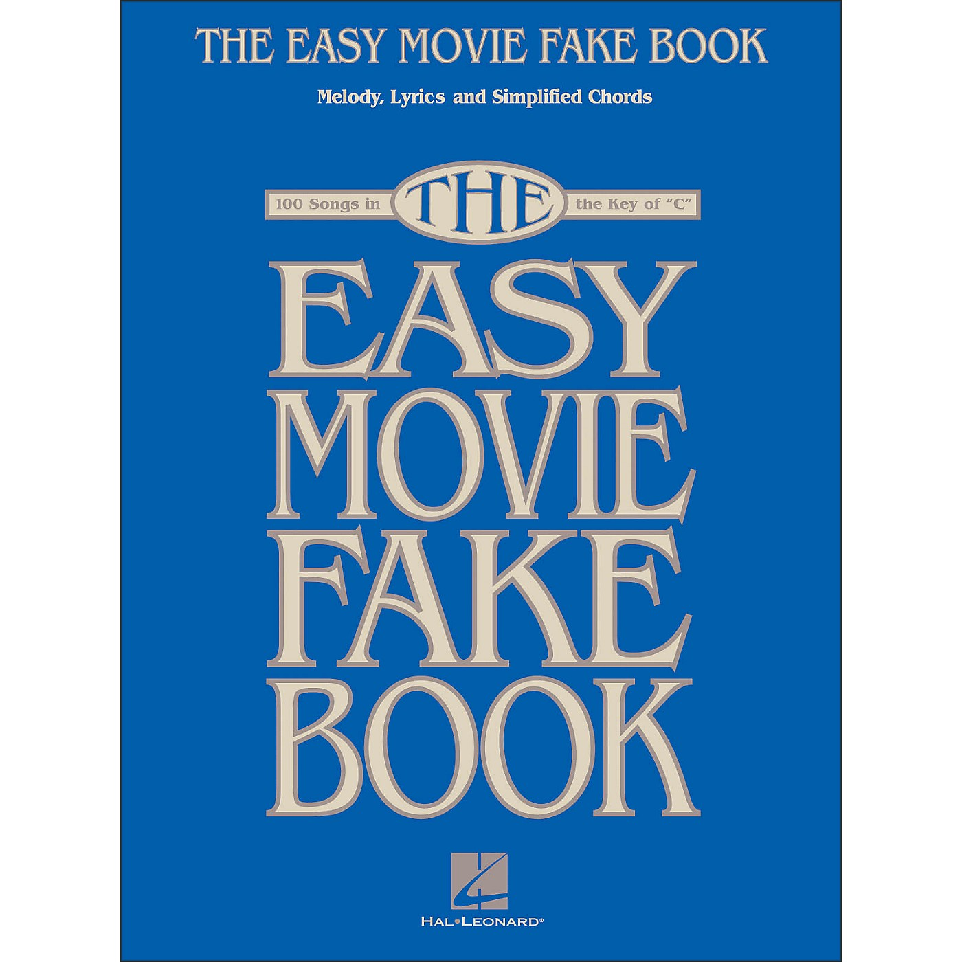 Hal Leonard The Easy Movie Fake Book - 100 Songs In The Key Of C thumbnail