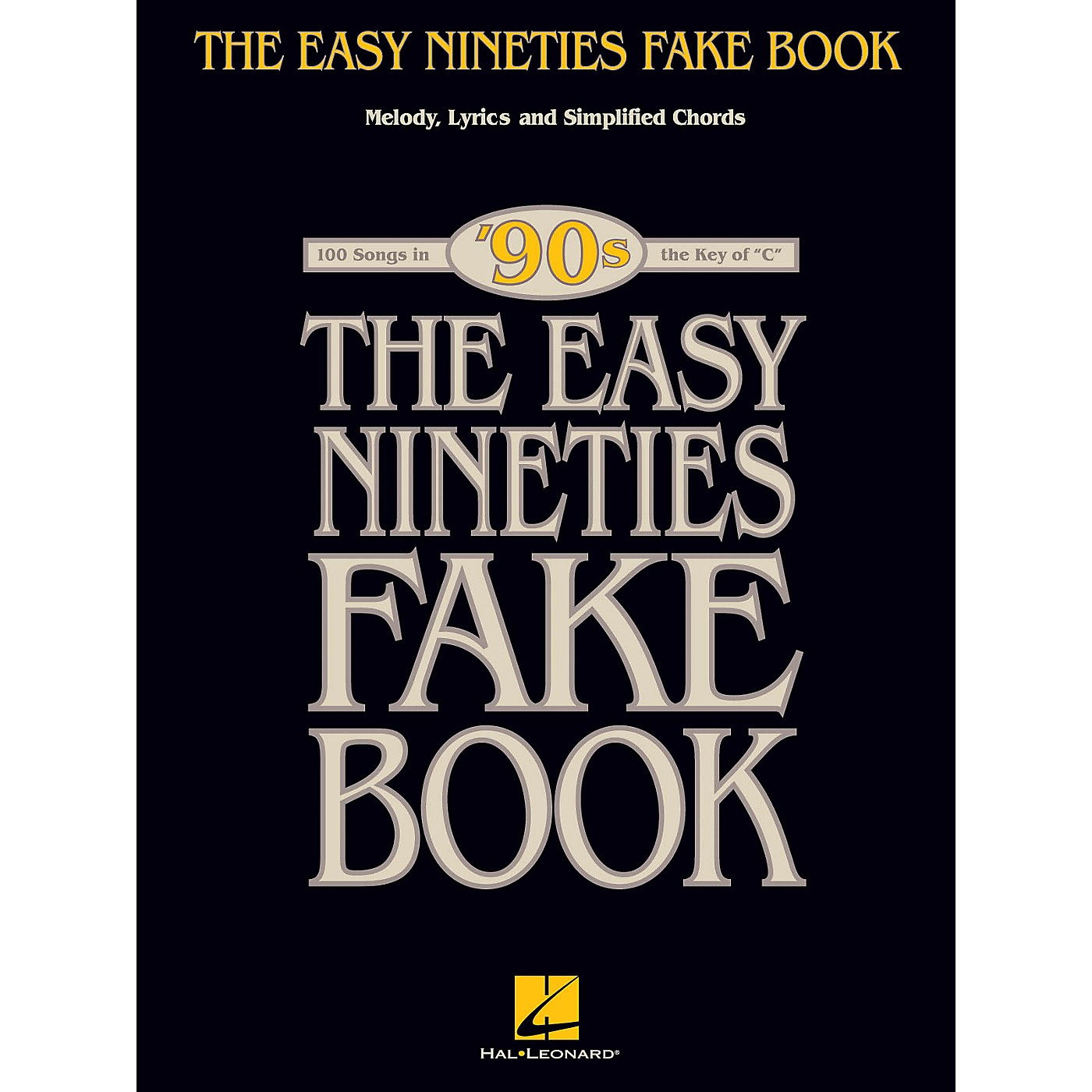 Hal Leonard The Easy Nineties Fake Book Easy Fake Book Series Softcover thumbnail