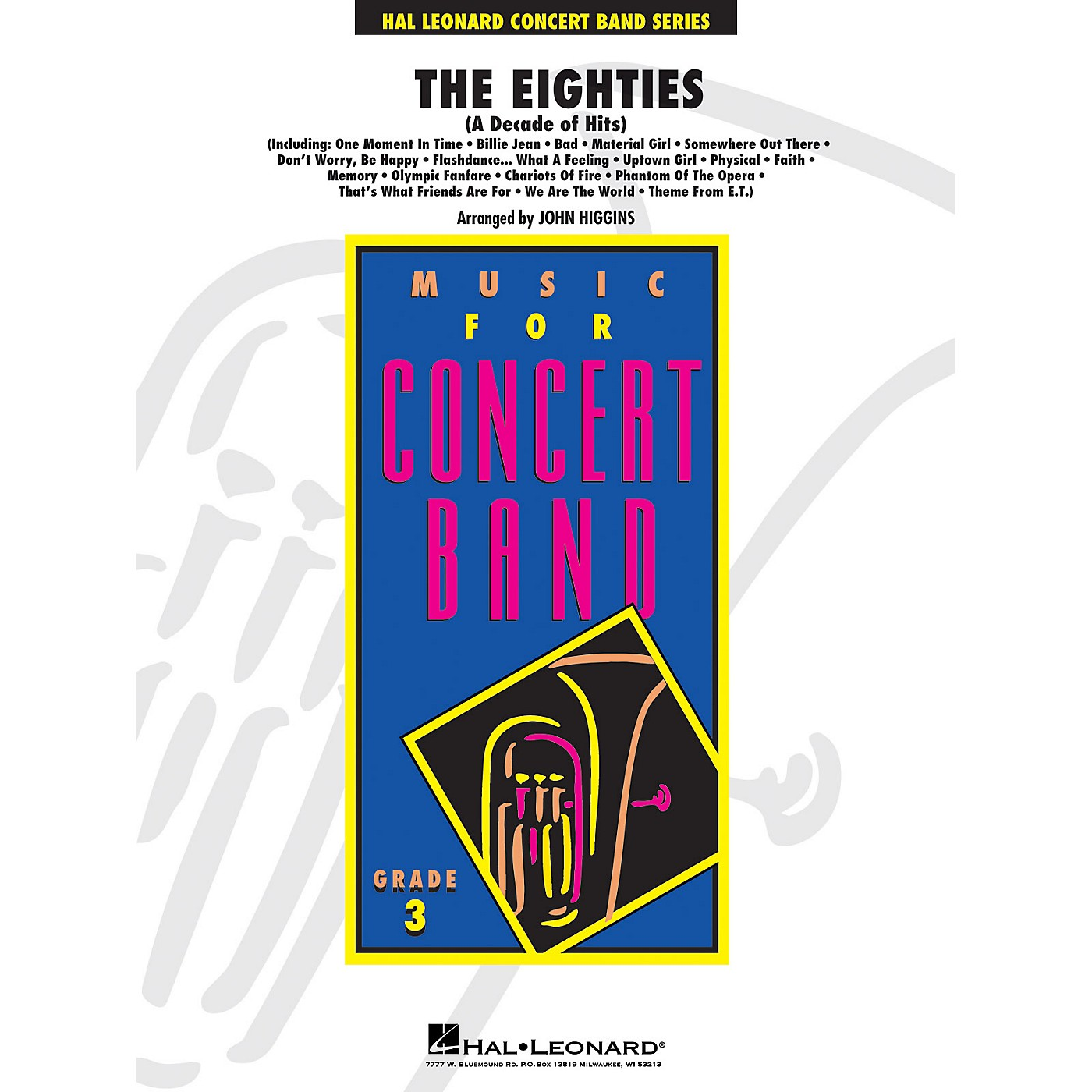 Hal Leonard The Eighties - Young Concert Band Level 3 arranged by John Higgins thumbnail