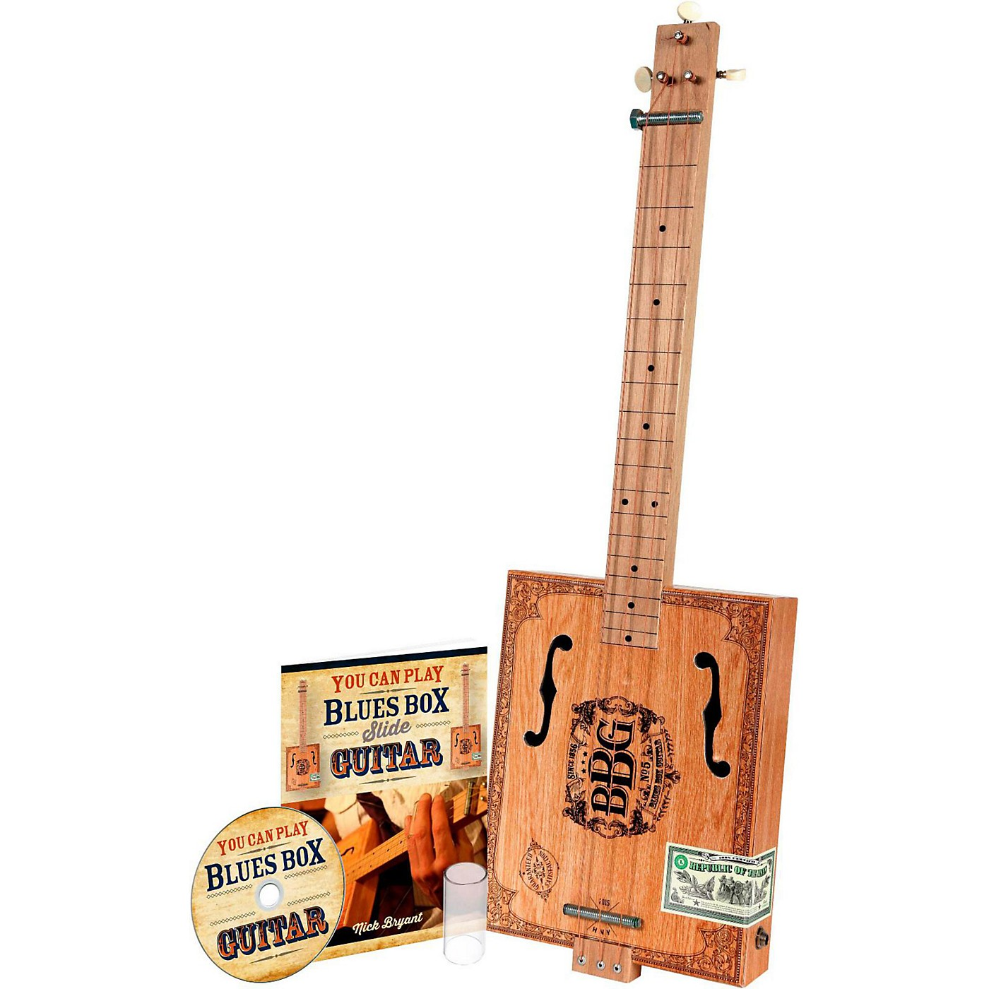 Hinkler The Electric Blues Box Slide Guitar with Guitar Slide, Instruction Book and Audio CD thumbnail