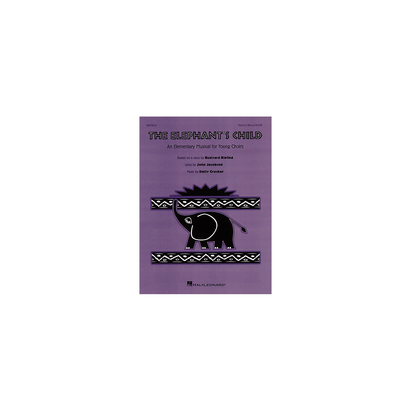 Hal Leonard The Elephant's Child (Musical) Singer 5 Pak Composed by John Jacobson thumbnail
