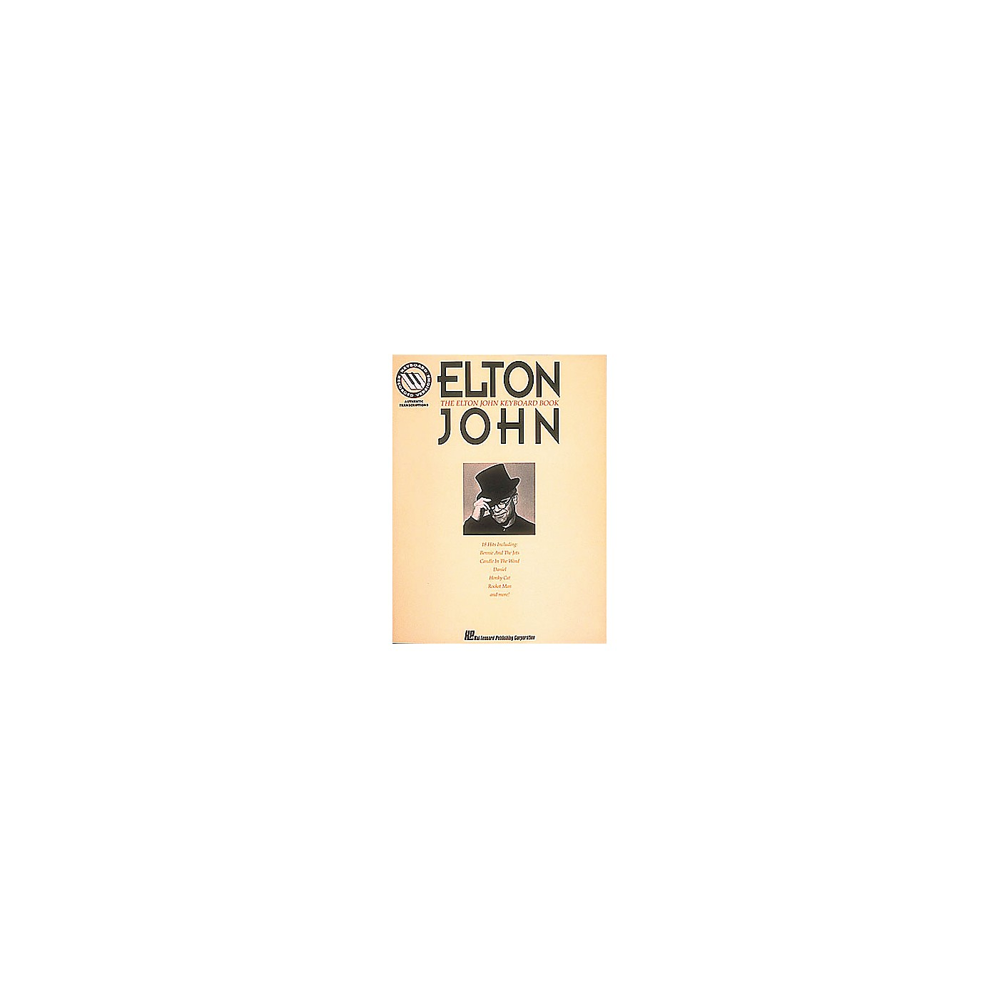 Hal Leonard The Elton John Keyboard Songbook thumbnail