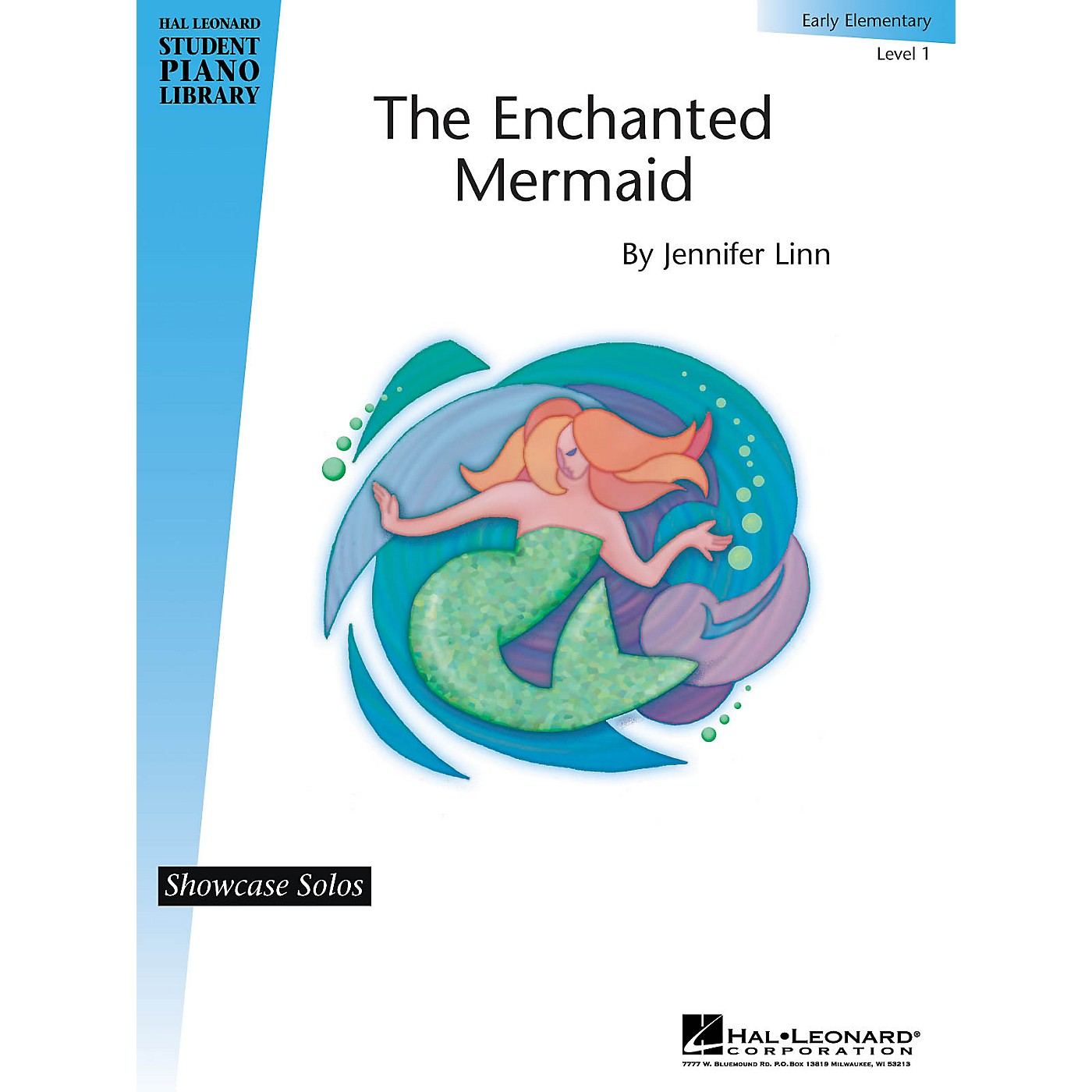 Hal Leonard The Enchanted Mermaid Piano Library Series by Jennifer Linn (Level Early Elem) thumbnail
