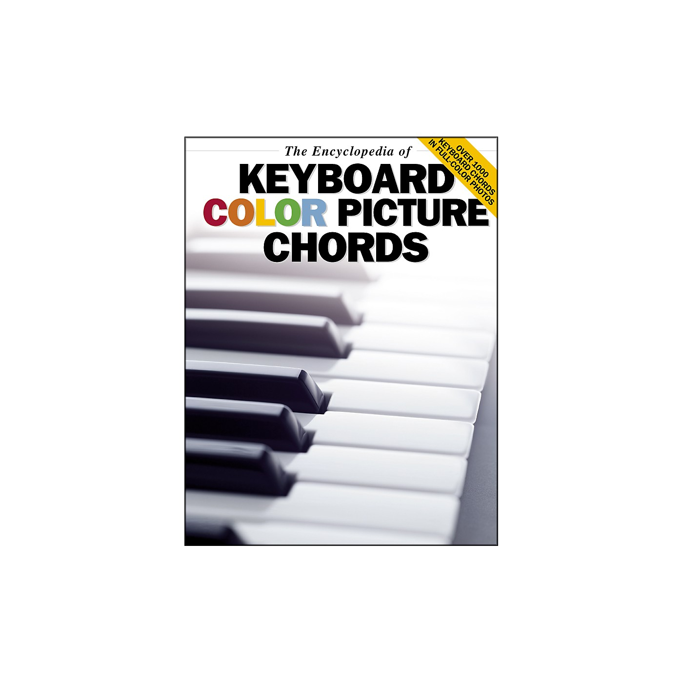 Music Sales The Encyclopedia Of Keyboard Color Picture Chords thumbnail