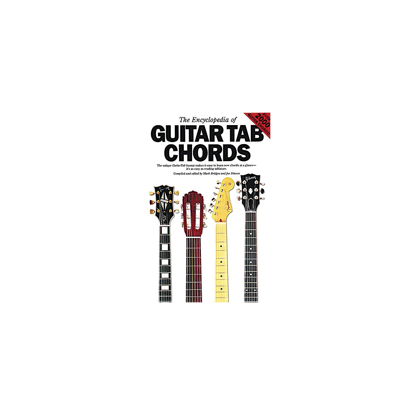 Music Sales The Encyclopedia of Guitar Tab Chords Music Sales America Series Softcover Written by Mark Bridges thumbnail