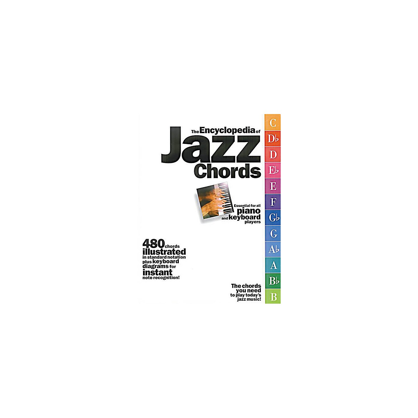 Music Sales The Encyclopedia of Jazz Chords Music Sales America Series Softcover Written by Various thumbnail