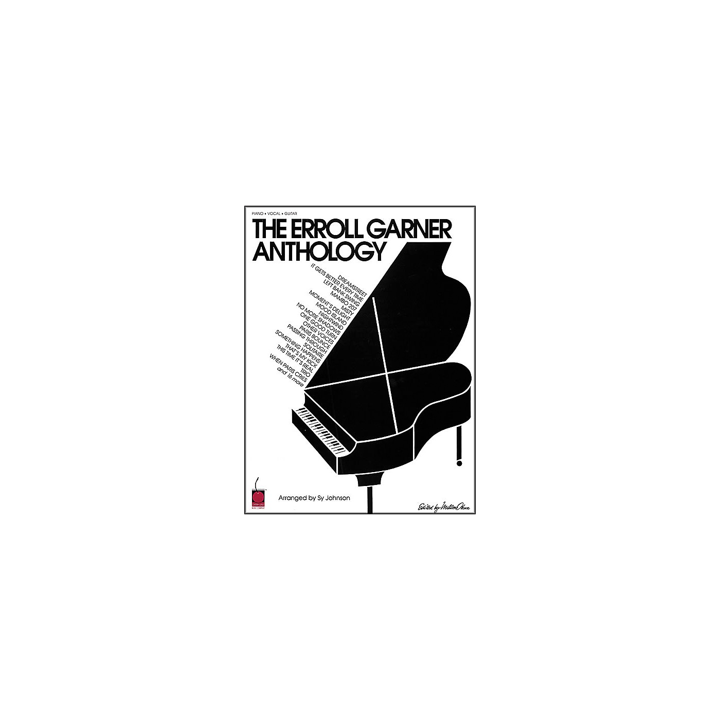 Cherry Lane The Erroll Garner Anthology Piano Book thumbnail