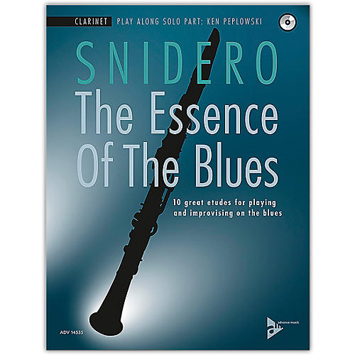 ADVANCE MUSIC The Essence of the Blues: Clarinet in B-flat Clarinet Book & CD thumbnail