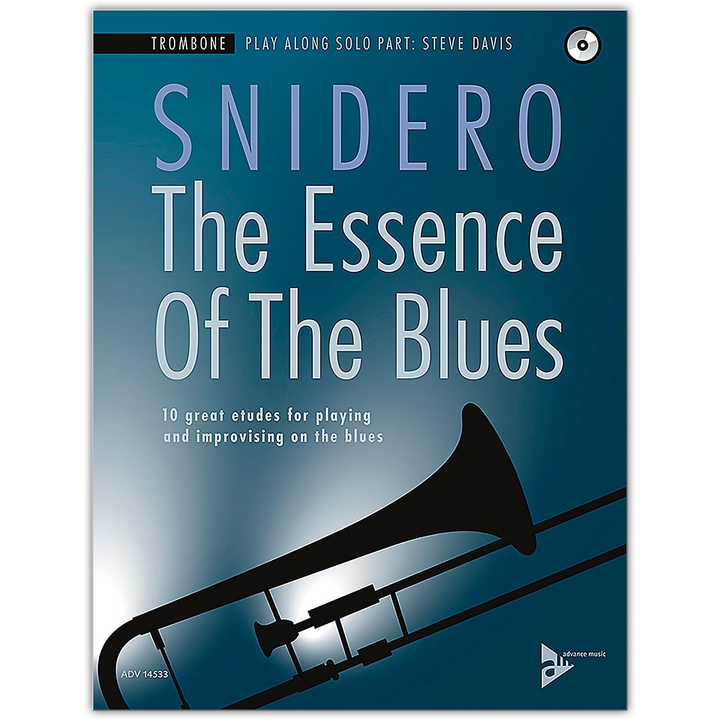 ADVANCE MUSIC The Essence of the Blues: Trombone Book & CD thumbnail