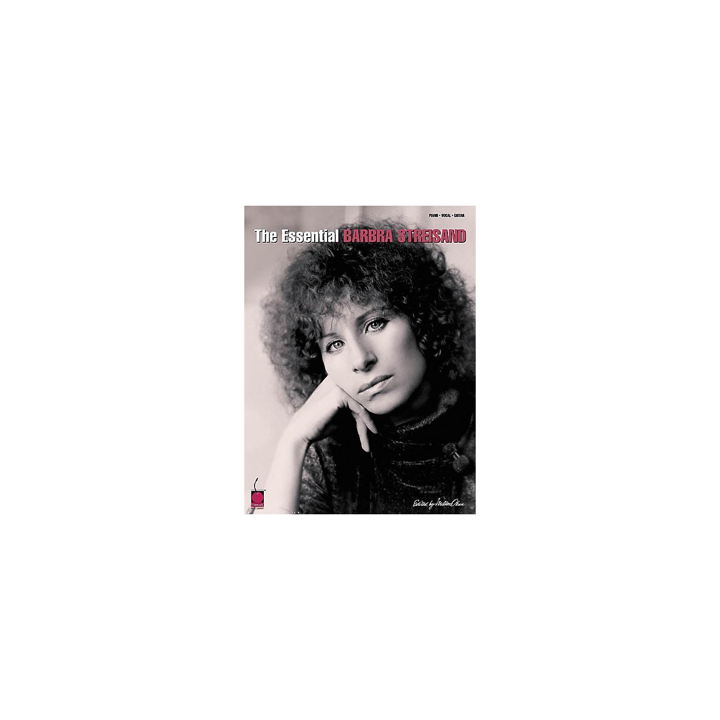 Cherry Lane The Essential Barbra Streisand Piano/Vocal/Guitar Artist Songbook thumbnail