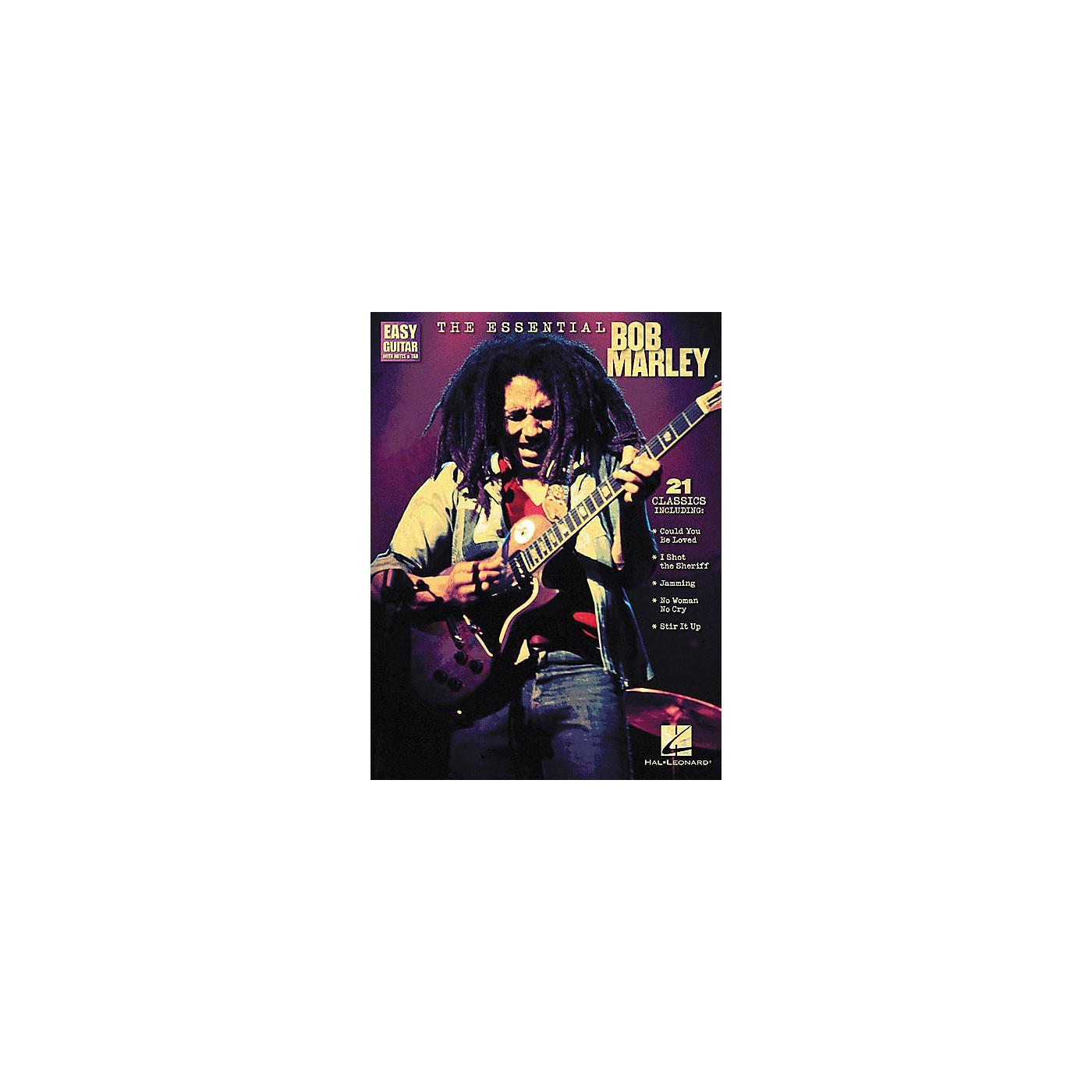 Hal Leonard The Essential Bob Marley Easy Guitar Tab Songbook thumbnail