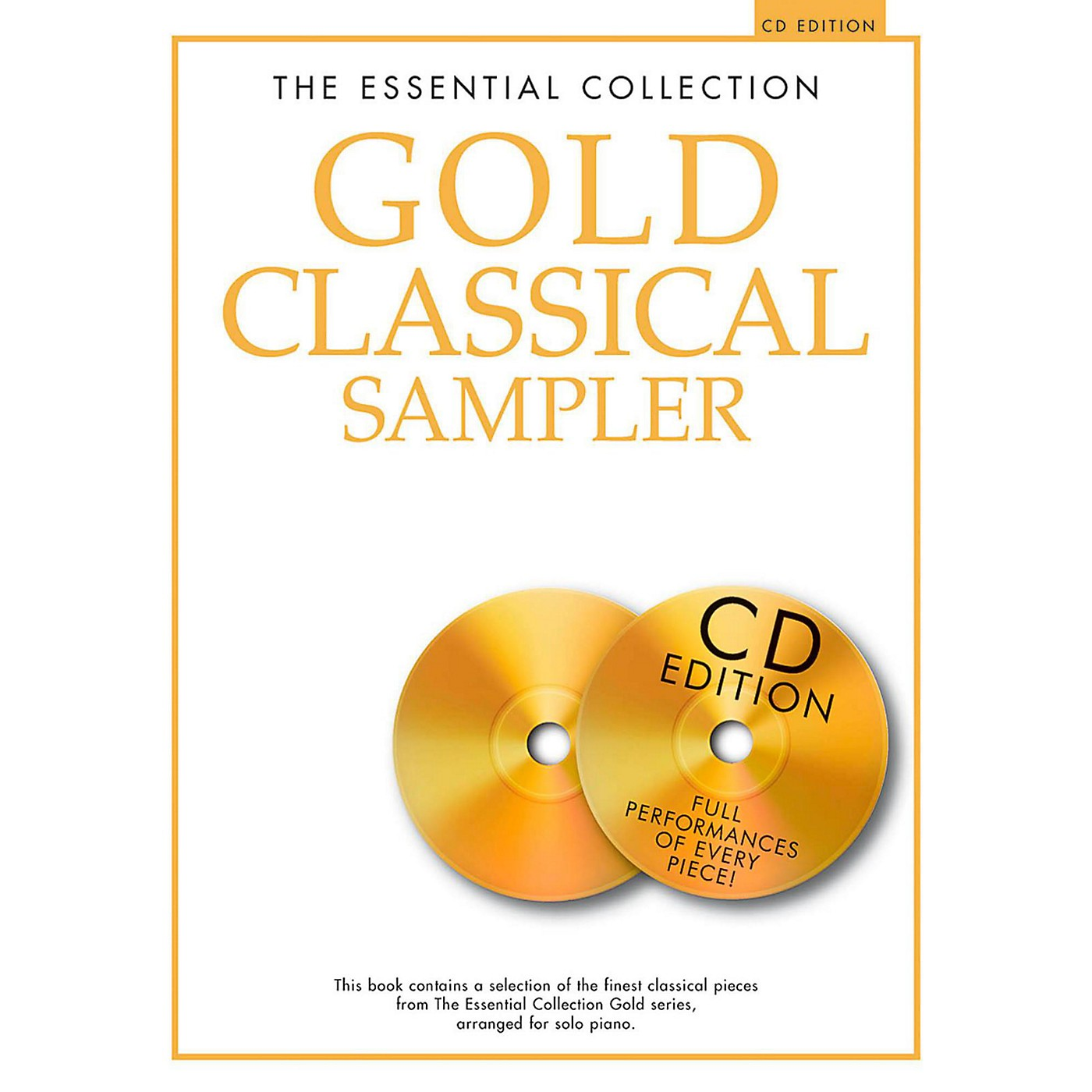 Music Sales The Essential Collection - Gold Classical Sampler For Piano Solo Book/2CDs thumbnail