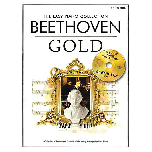 Music Sales The Essential Collection Beethoven Easy Piano Gold Book/CD thumbnail