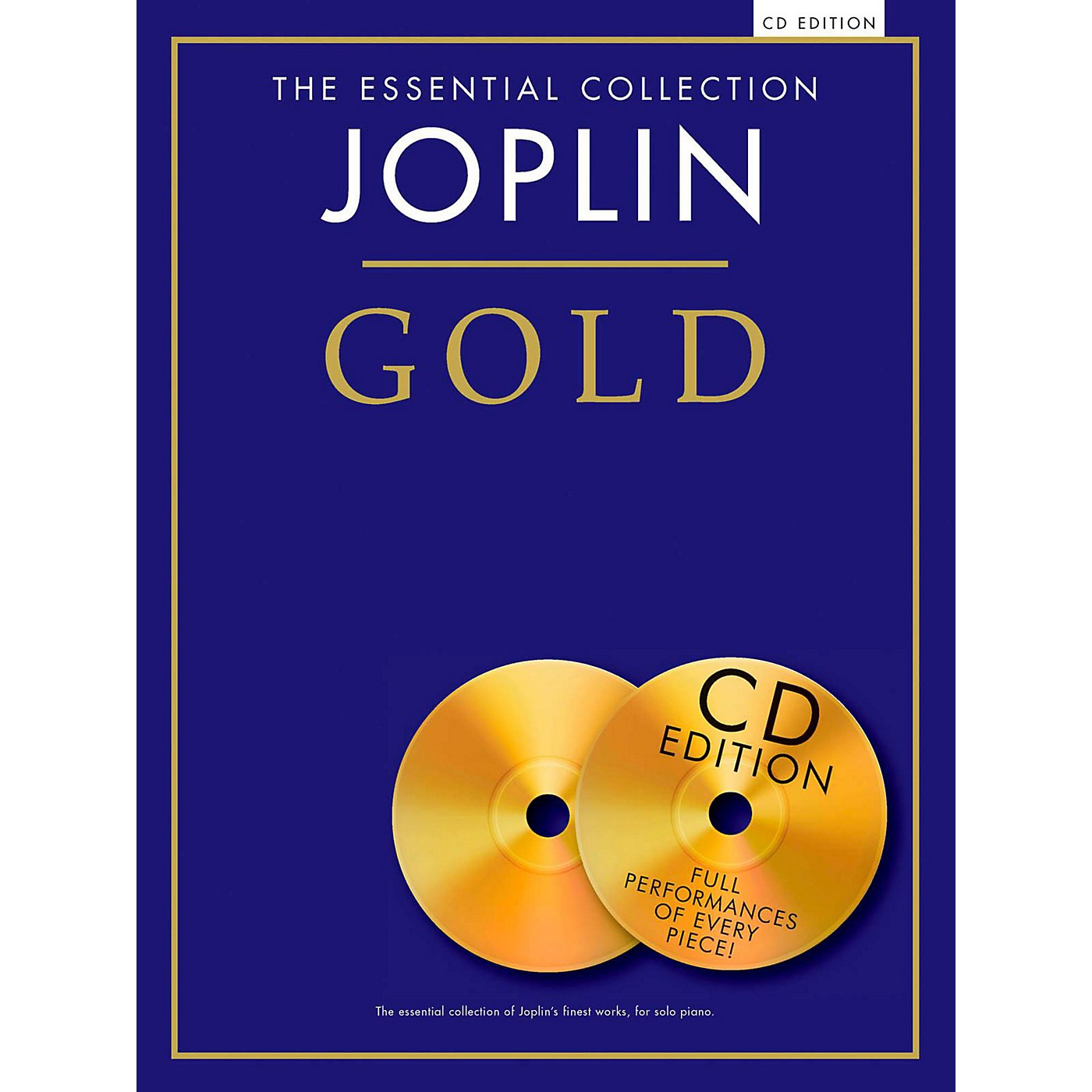 Music Sales The Essential Collection Joplin Gold Book/CD thumbnail