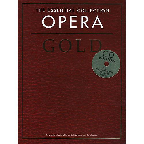 Music Sales The Essential Collection Opera Gold Book/2CD thumbnail