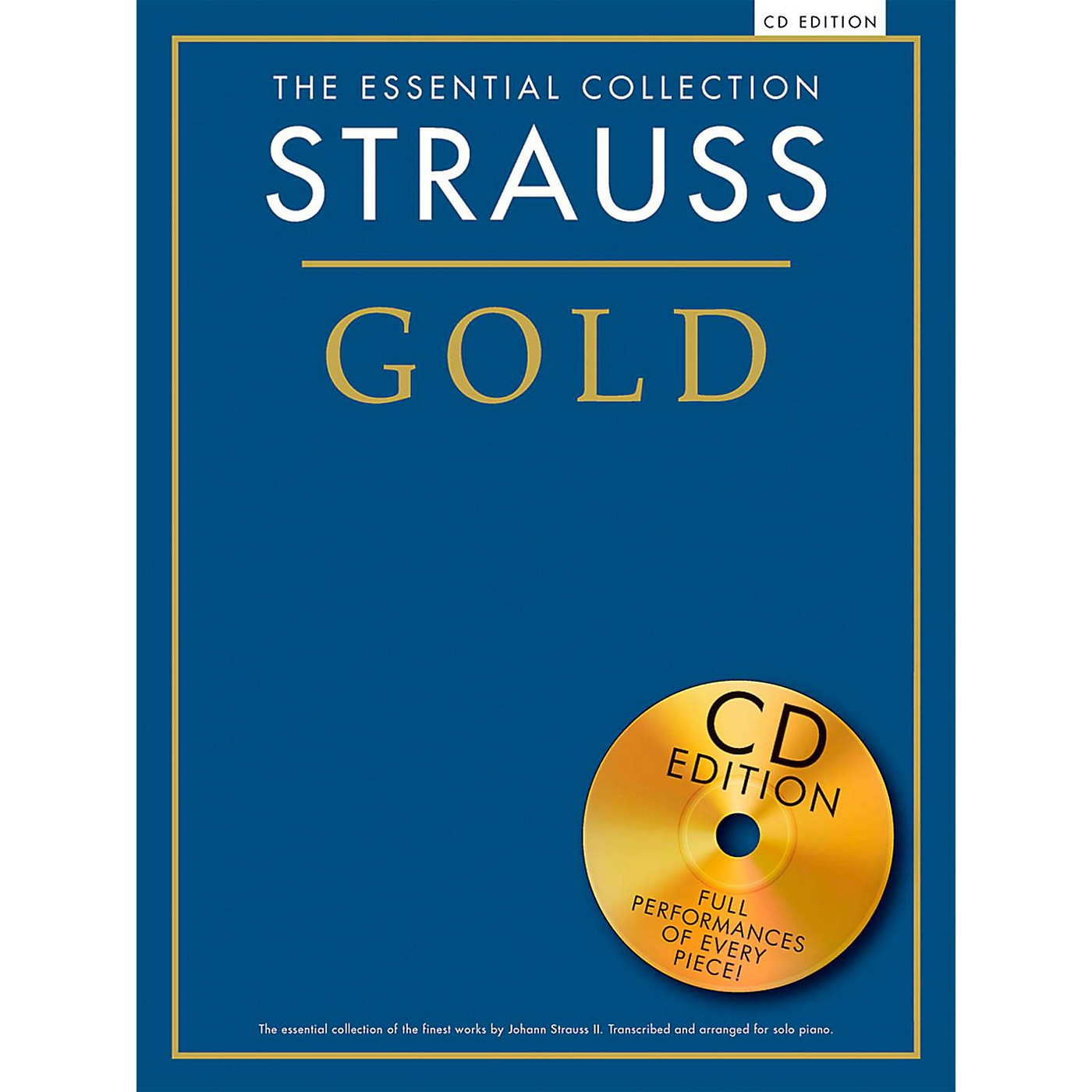 Music Sales The Essential Collection Strauss Gold (Book/CD) thumbnail