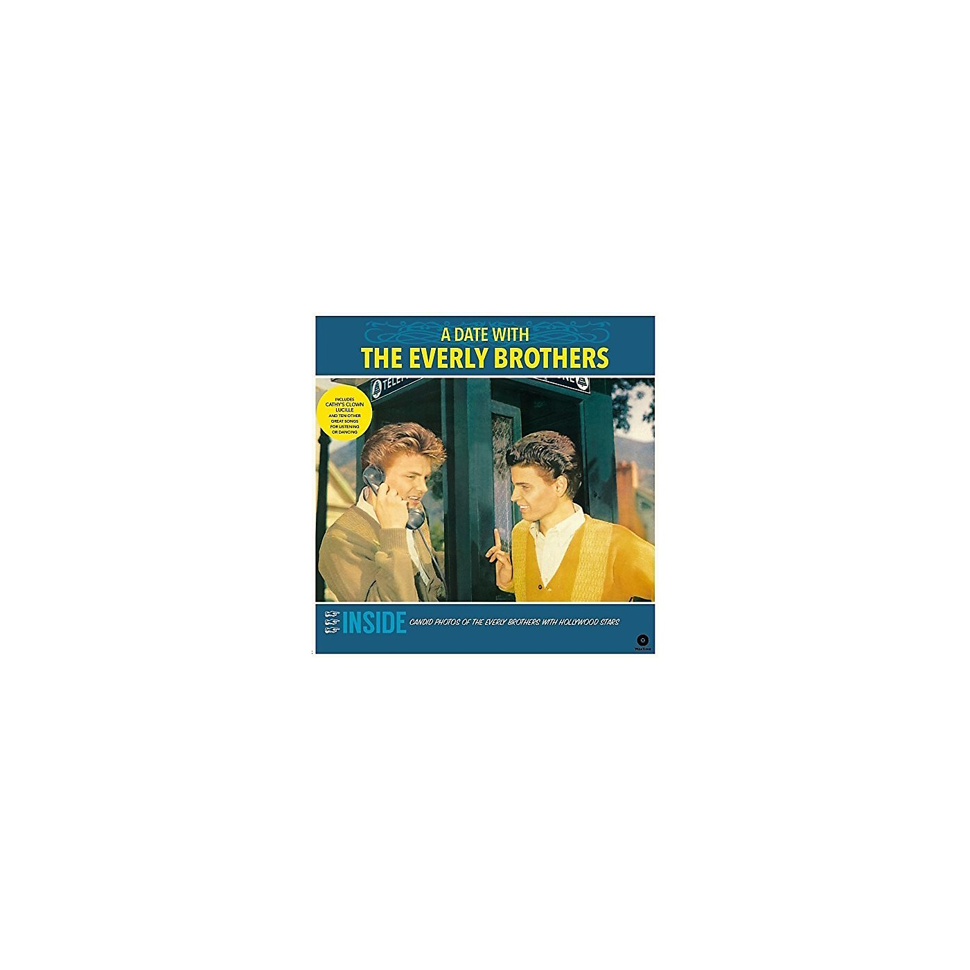 Alliance The Everly Brothers - Date with the Everly Brothers + 4 Bonus Tracks thumbnail