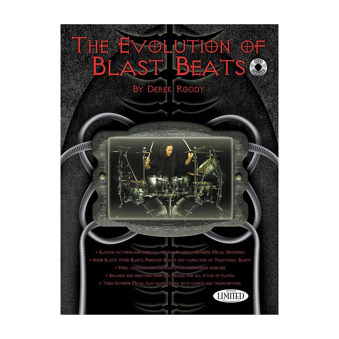 Hudson Music The Evolution Of Blast Beats By Derek Roddy (Book/CD) thumbnail