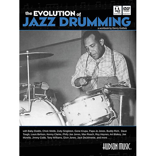 Hudson Music The Evolution Of Jazz Drumming (Book/Online Audio/Content) thumbnail