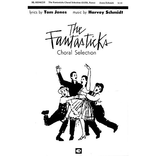 Hal Leonard The Fantasticks (Choral Selections) SATB arranged by Robert H. Noeltner thumbnail