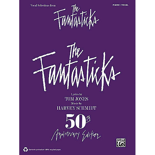 Alfred The Fantasticks (Vocal Selections) Vocal Selections Series Softcover thumbnail