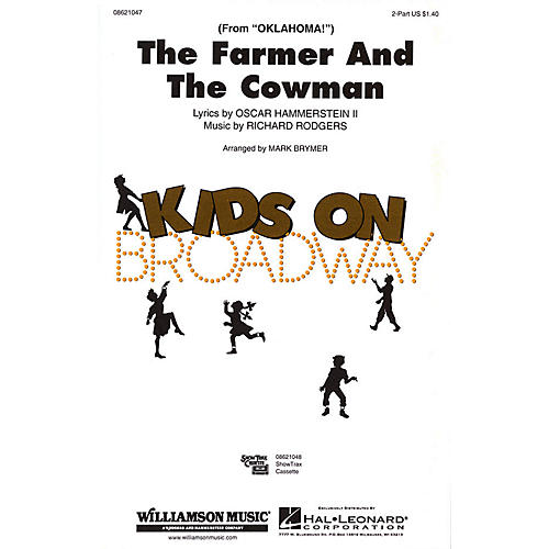 Hal Leonard The Farmer and the Cowman (from Oklahoma!) 2-Part arranged by Mark Brymer thumbnail