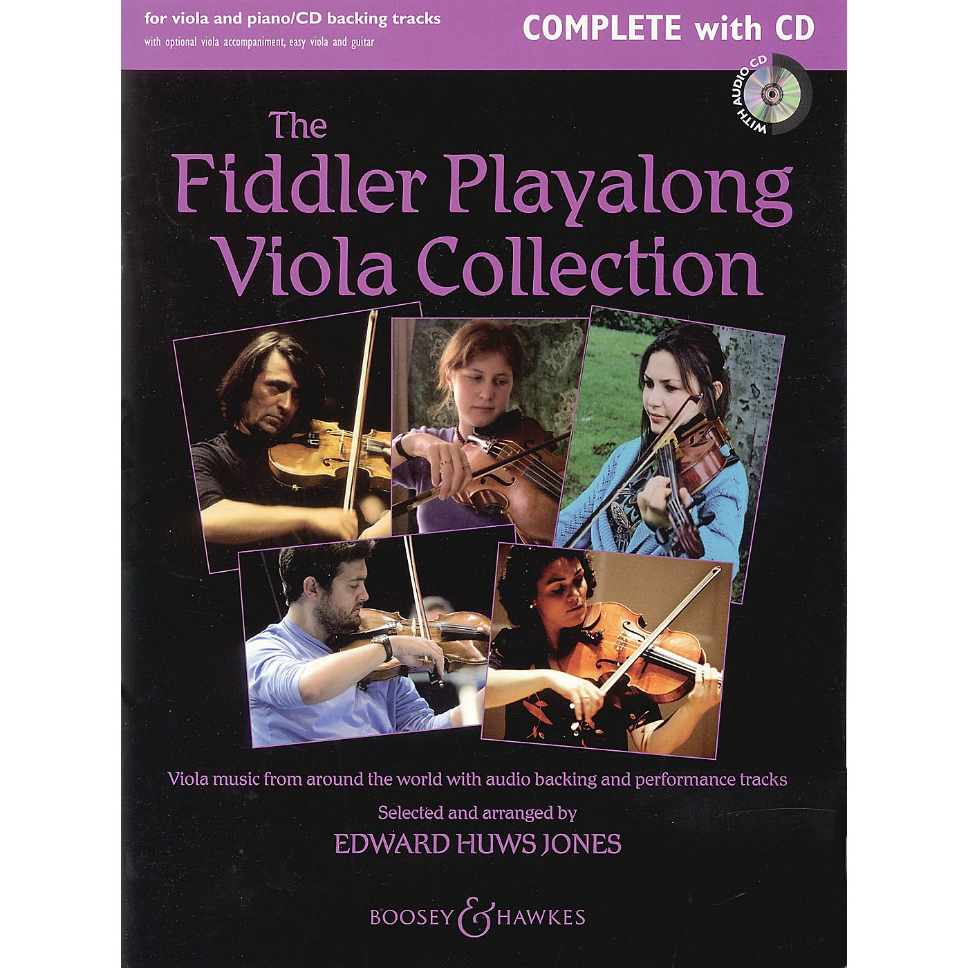 Boosey and Hawkes The Fiddler Play-Along Viola Collection Boosey & Hawkes Miscellaneous Series Softcover with CD thumbnail