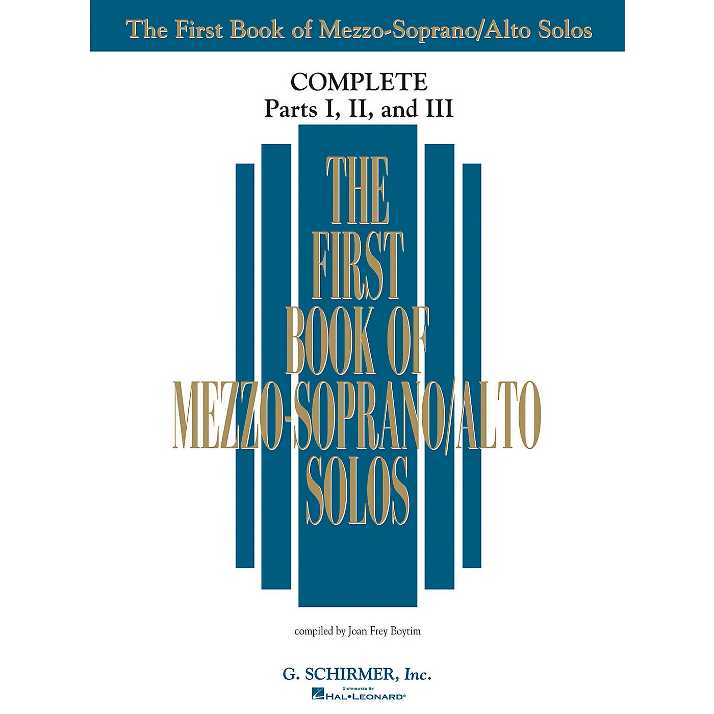 G. Schirmer The First Book Of Mezzo-Soprano/Alto Solos Complete Parts 1, 2 and 3 thumbnail