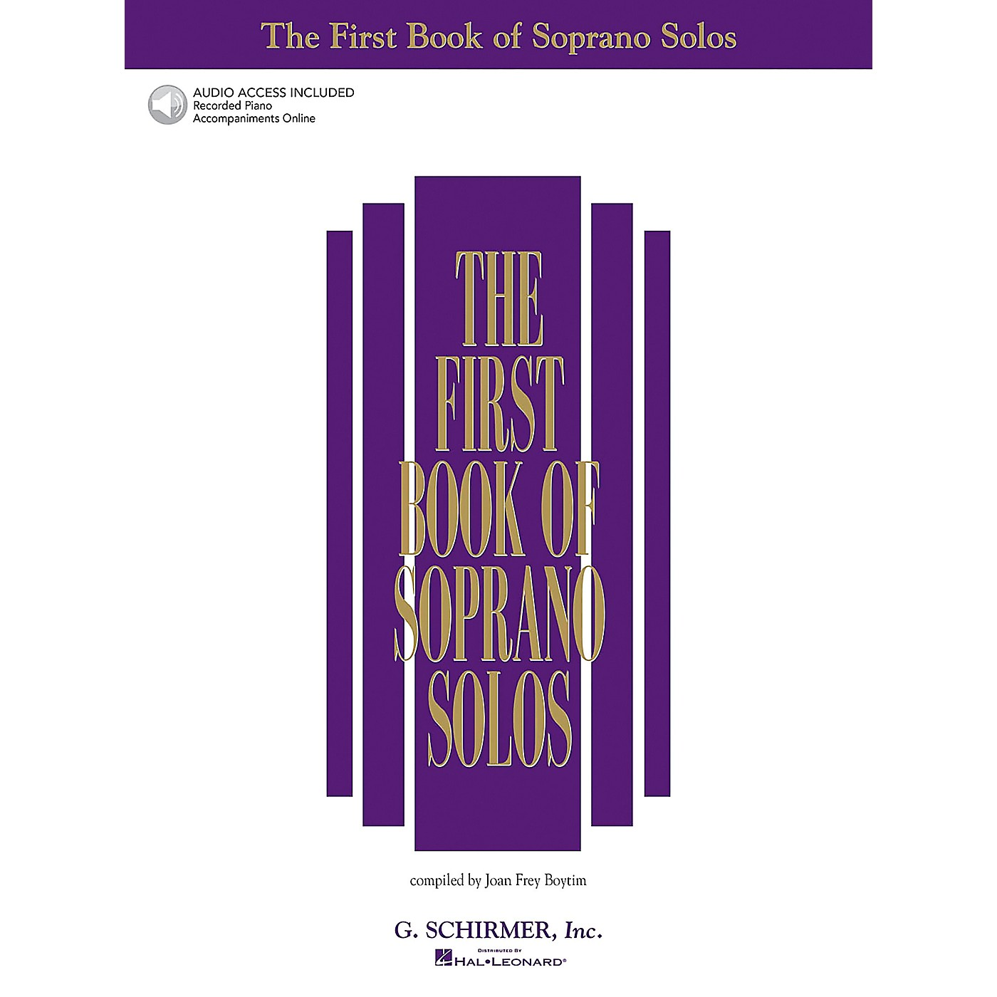 Hal Leonard The First Book/Online Audio of Soprano Solos Book/Online Audio thumbnail