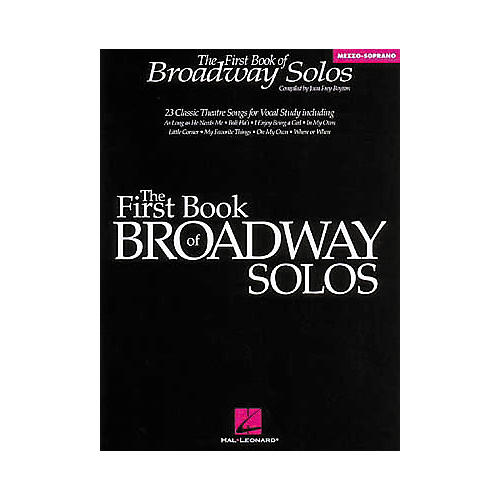 Hal Leonard The First Book of Broadway Solos thumbnail