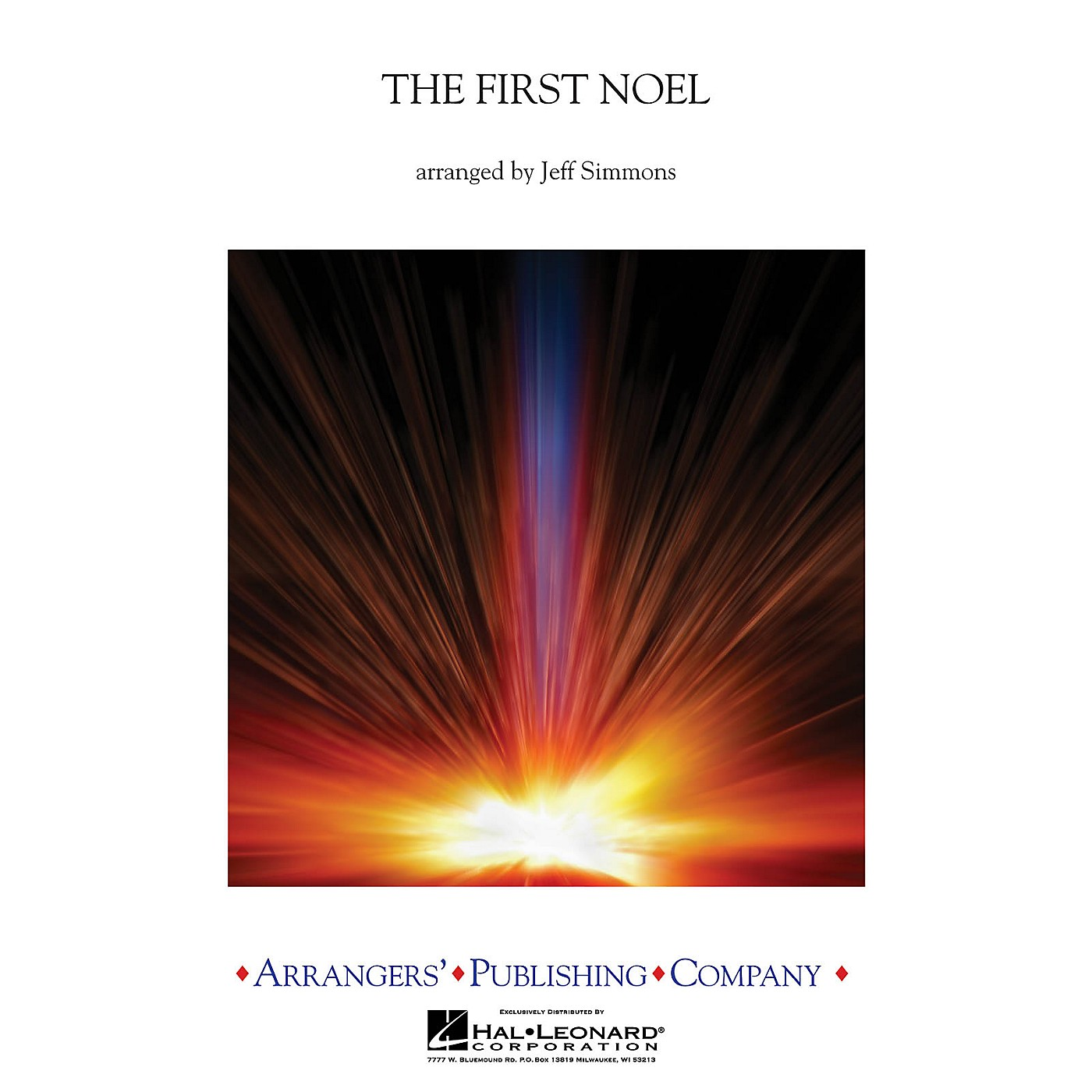 Arrangers The First Noel Concert Band Level 2 Arranged by Jeff Simmons thumbnail