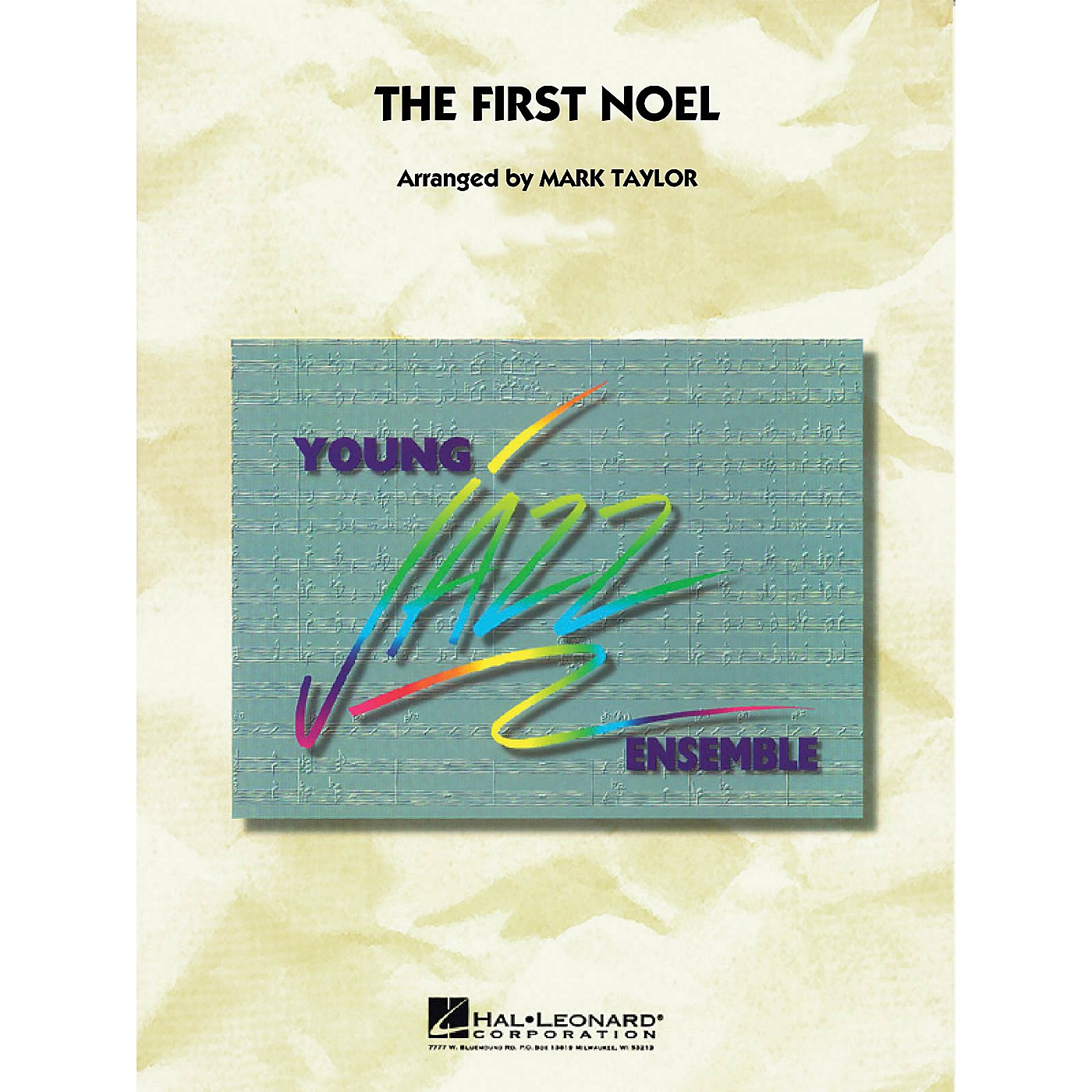 Hal Leonard The First Noel Jazz Band Level 3 Arranged by Mark Taylor thumbnail