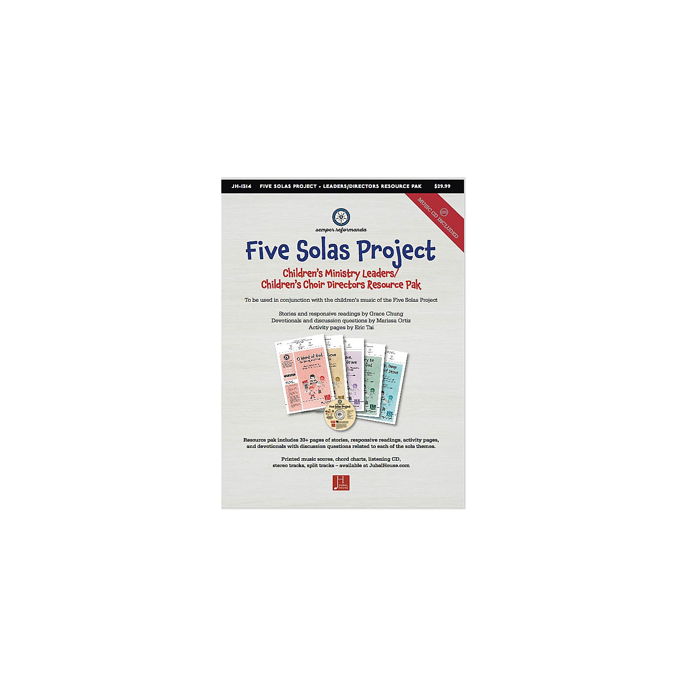 Jubal House Publications The Five Solas (Bundle of All Kid's Resources) Resource Kit composed by Edwin M. Willmington thumbnail