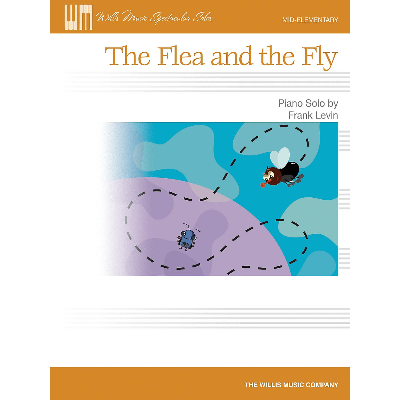 Willis Music The Flea and the Fly (Mid-Elem Level) Willis Series by Frank Levin thumbnail
