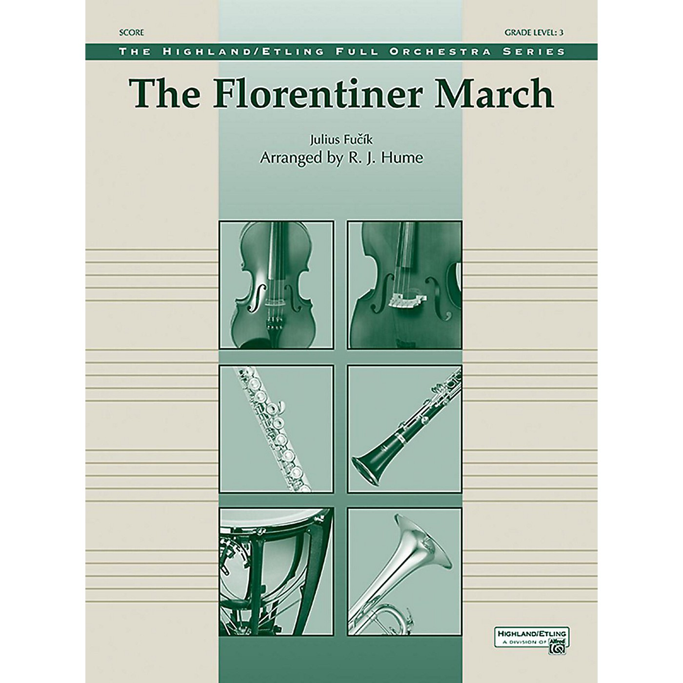 Alfred The Florentiner March Full Orchestra Grade 3 Set thumbnail