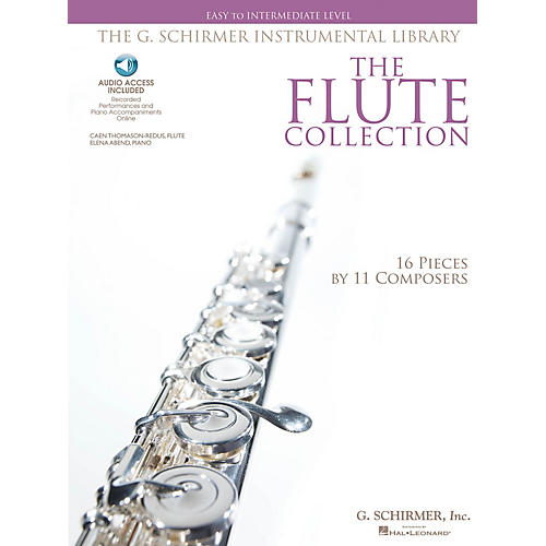 G. Schirmer The Flute Collection - Easy to Intermediate Level Woodwind Solo Series Softcover Audio Online thumbnail