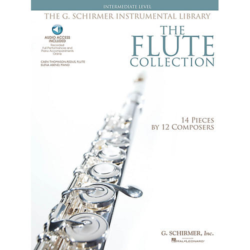G. Schirmer The Flute Collection - Intermediate Level Woodwind Solo Series Softcover Audio Online thumbnail