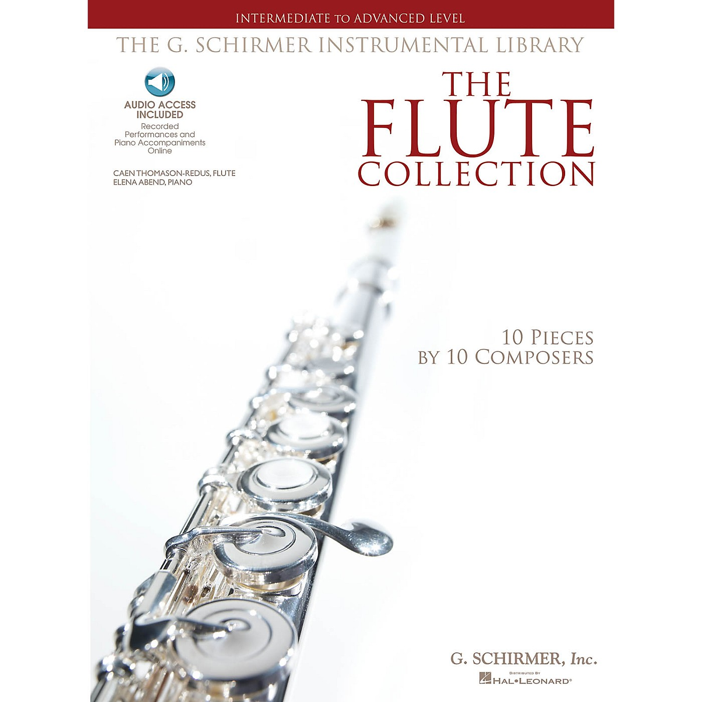 G. Schirmer The Flute Collection - Intermediate to Advanced Level Woodwind Solo Series Softcover Audio Online thumbnail