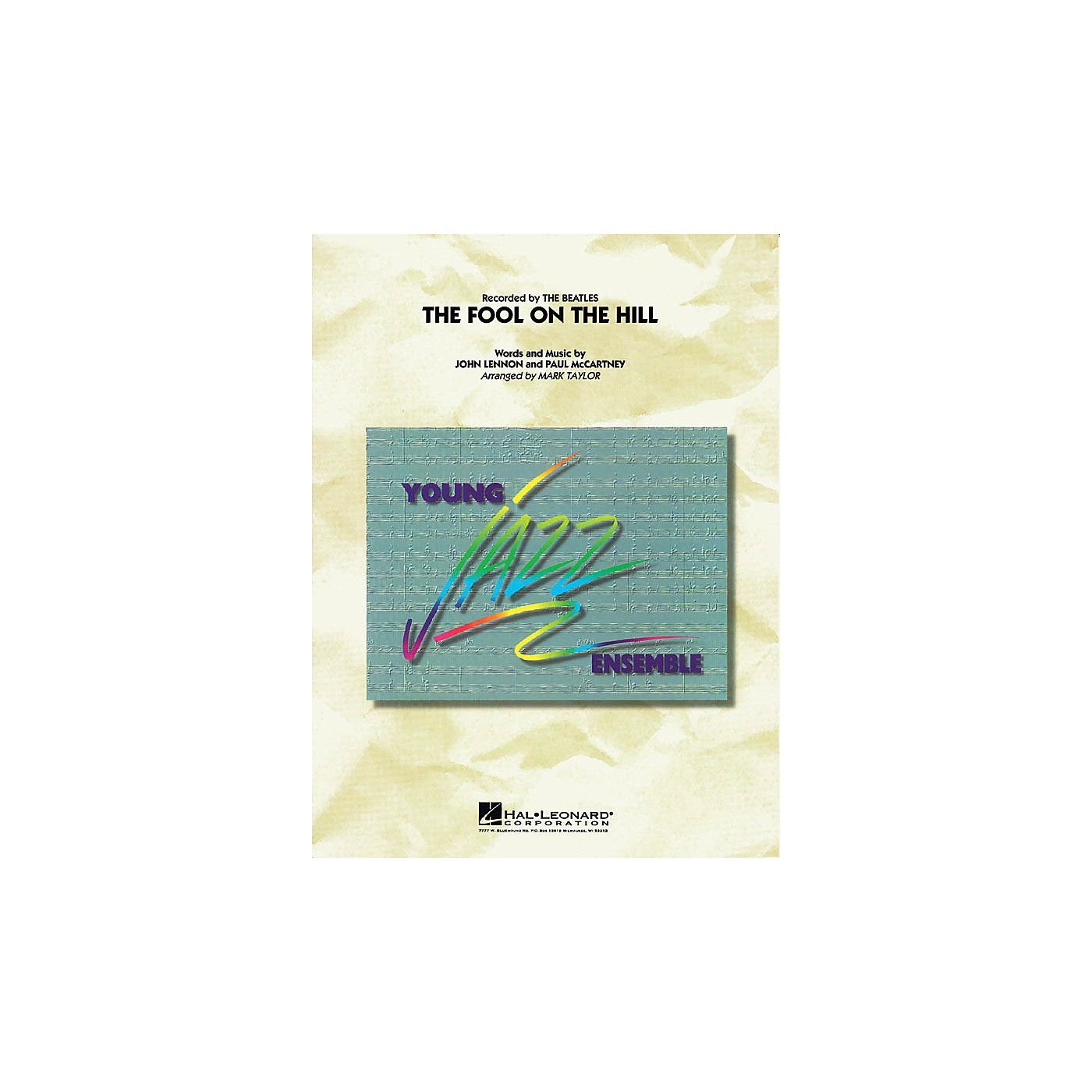 Hal Leonard The Fool on the Hill (Flugelhorn Feature) Jazz Band Level 3 Arranged by Mark Taylor thumbnail