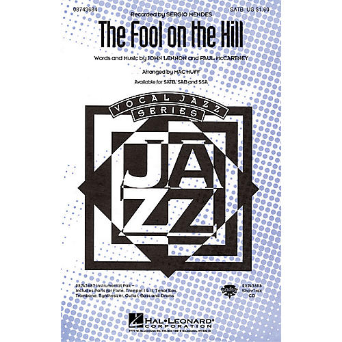 Hal Leonard The Fool on the Hill SATB by The Beatles arranged by Mac Huff thumbnail