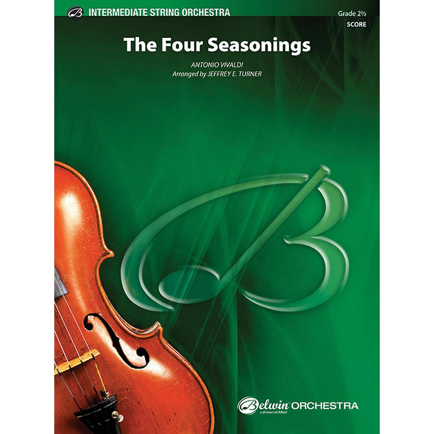 Alfred The Four Seasonings String Orchestra Grade 2.5 thumbnail