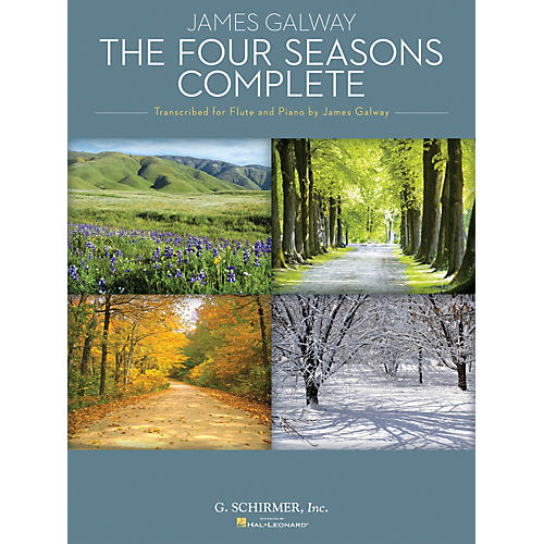 G. Schirmer The Four Seasons Complete Woodwind Solo Series Softcover Performed by James Galway thumbnail