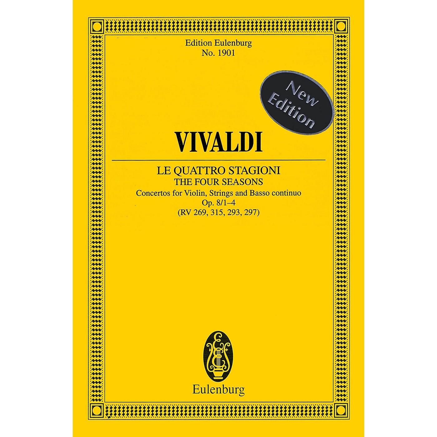 Eulenburg The Four Seasons, Op. 8, Nos. 1-4 Study Score Series Softcover Composed by Antonio Vivaldi thumbnail