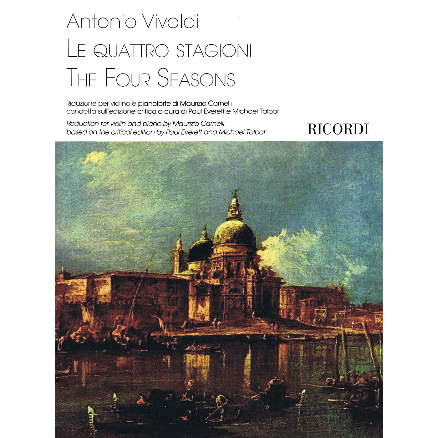 Ricordi The Four Seasons Ricordi Series Softcover Composed by Antonio Vivaldi Edited by Maurizio Carnelli thumbnail