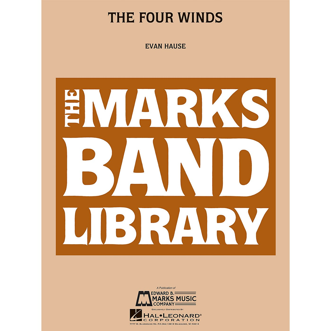 Edward B. Marks Music Company The Four Winds Concert Band Level 4 Composed by Evan Hause thumbnail